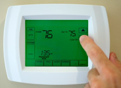 Thermostat service in Modesto CA by Armored Air